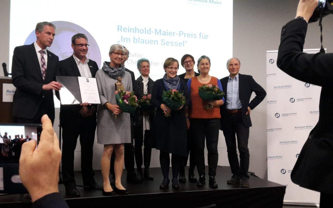 Verleihung Reinhold-Maier-Preis